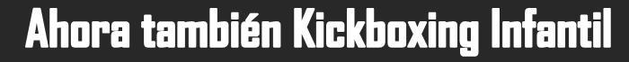 Ir a la Seccion de Kickboxing para Niños
