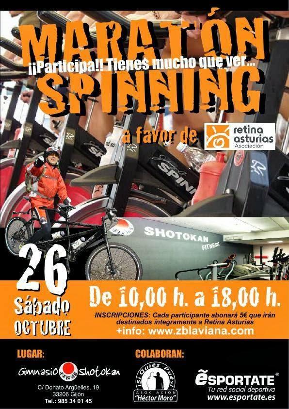 Maratón de Spinning Gijón