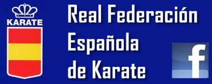 Facebook de la REal Federación Española de Karate