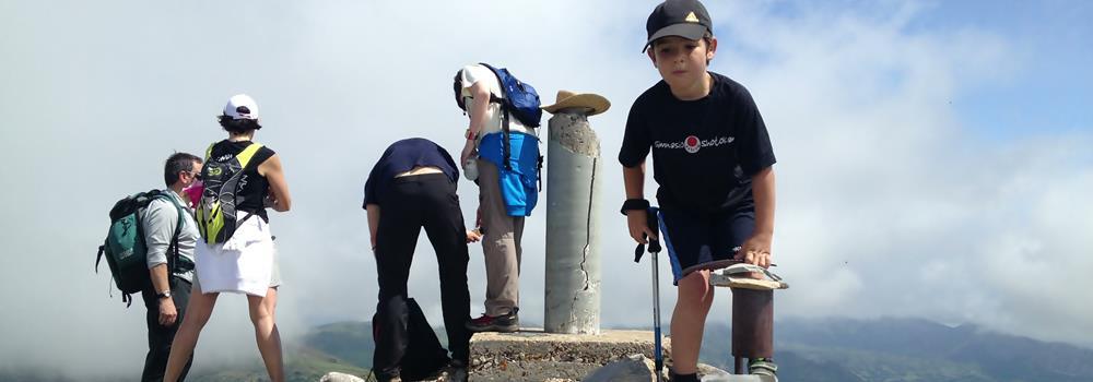 Buzón de Cumbres del Pico Michu