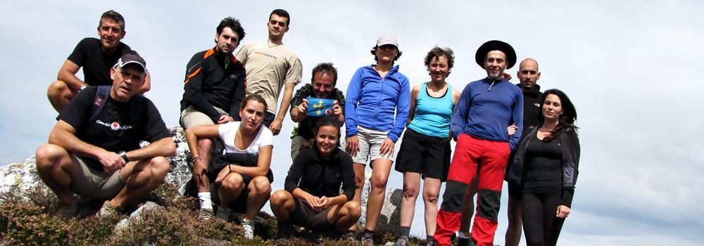 Cumbre en la Rapaona