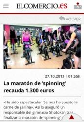 Maratón de Spinning