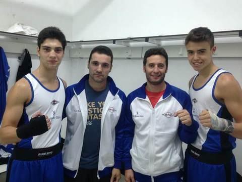 Gimnasio Shotokan - Otras dos victorias para el Club Boxeo Gijón.