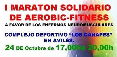 Gimnasio Shotokan - El equipo de Kickboxing del Shotokan colabora en el I Maratón Solidario de Aerobic - Tu gimnasio en Gijón