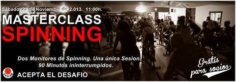 Gimnasio Shotokan - Masterclass de Spinning