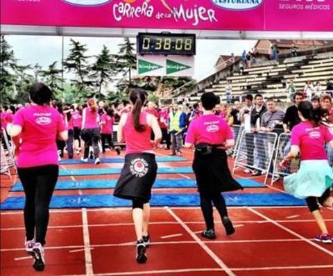 Gimnasio Shotokan - Carrera de la Mujer 2.012 - Tu gimnasio en Gijón