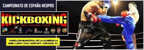 Gimnasio Shotokan - Campeonato de España de Kickboxing Neopro - Tu gimnasio en Gijón