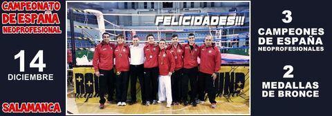 Gimnasio Shotokan - Resultados en el Campeonato de España de Kickboxing Neopro - Tu gimnasio en Gijón