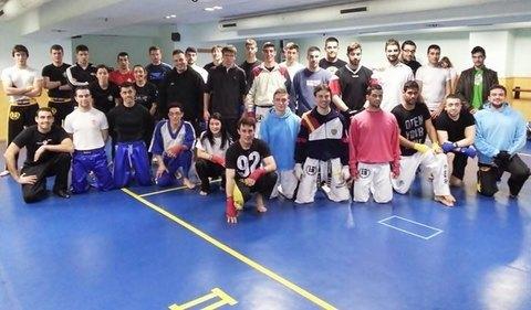 Gimnasio Shotokan - Éxito total en el Curso Técnico de Kickboxing. - Tu gimnasio en Gijón