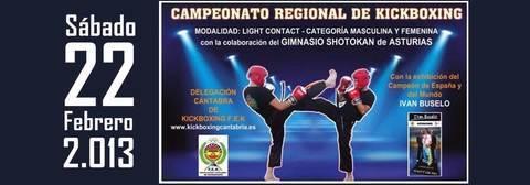 Gimnasio Shotokan - Campeonato Regional de Kickboxing F.E.K. Cantabria - Tu gimnasio en Gijón