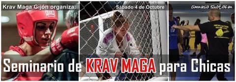 Gimnasio Shotokan -  Seminario Gratuito de Krav Maga para Chicas - Tu gimnasio en Gij�n