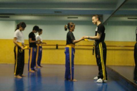 Gimnasio Shotokan - Entrega de cinturones de Kickboxing - Tu gimnasio en Gijón