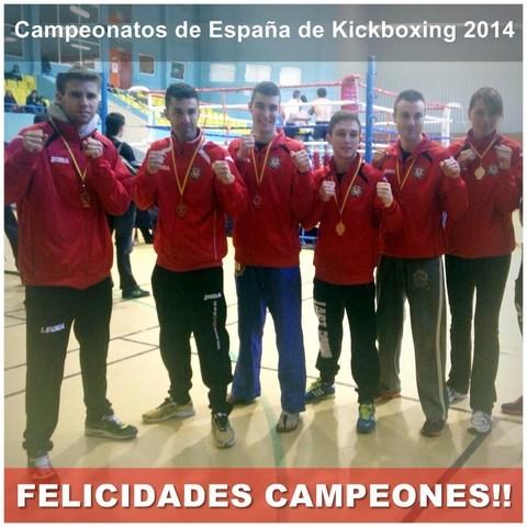 Gimnasio Shotokan -  Campeonatos de Espa�a de Kickboxing Neoprofesional. - Tu gimnasio en Gij�n