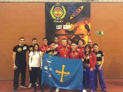 Gimnasio Shotokan - Campeonatos de España de Light-Contact - Tu gimnasio en Gijón