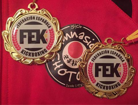 Gimnasio Shotokan - Campeonato de España Kickboxing 2016 - Tu gimnasio en Gijón