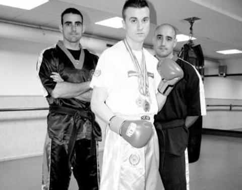 Gimnasio Shotokan - Iván Buselo logra su primer título nacional neoprofesional. - Tu gimnasio en Gijón