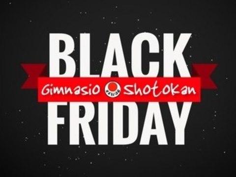 Gimnasio Shotokan - Vuelve el Black Friday - Tu gimnasio en Gijón