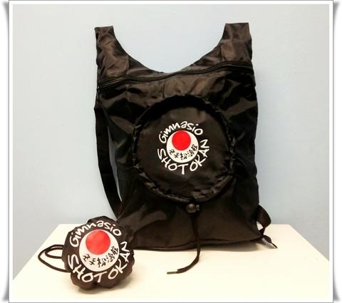 Gimnasio Shotokan - Mochila Plegable